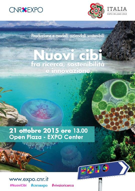Nuovi Cibi: fra ricerca, sostenibilità e innovazione | Expo Milano 2015