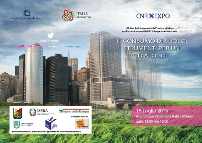 Il consumo di suolo: strumenti per un dialogo