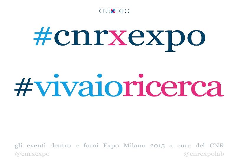 Vivaio Ricerca: dai voce alla tua ricerca!   CNR Expo Lab