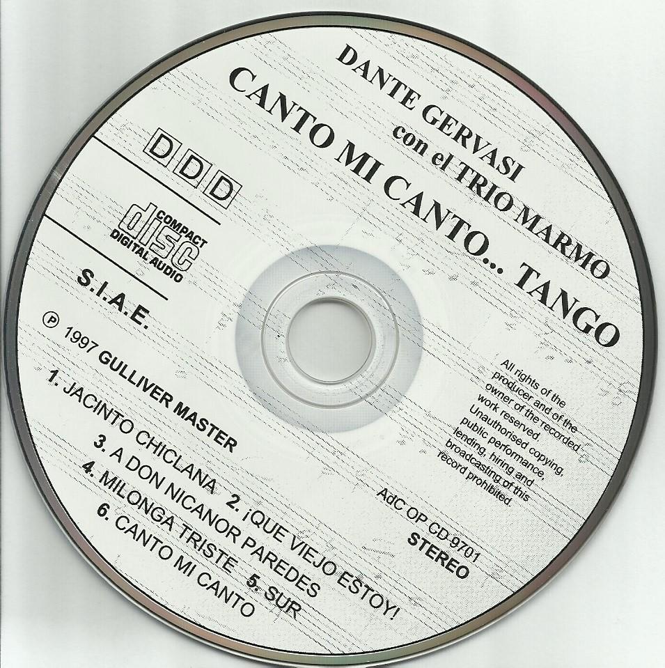Tango | CD