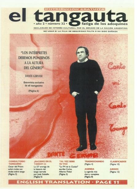 el Tangauta n° 32 1996